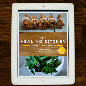 Check out The Healing Kitchen on an iPad