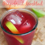 pomegranate grapefruit mocktail