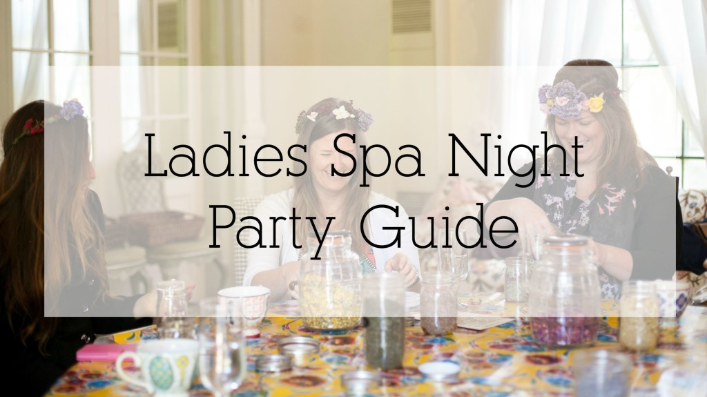 ladies spa night banner