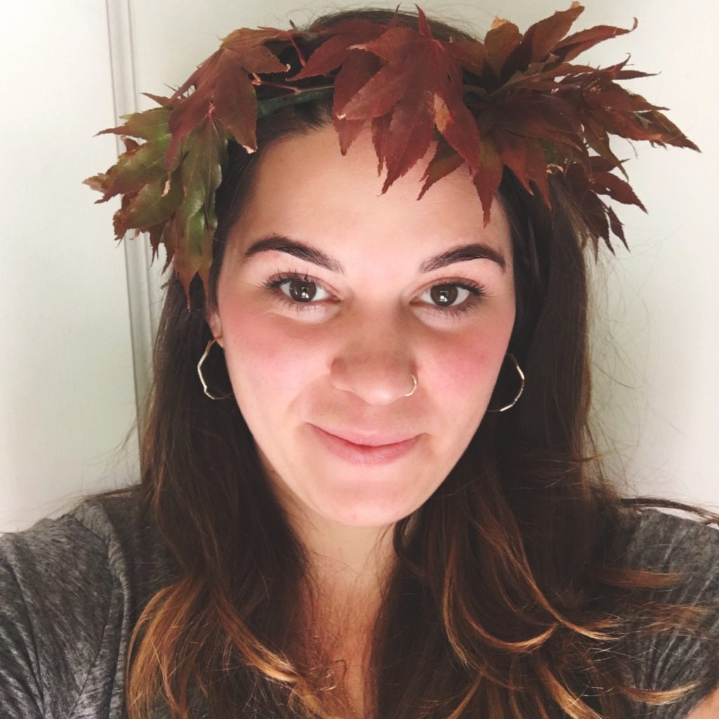 Celebrate the Equinox with a Handmade Autumn Head Wreath
