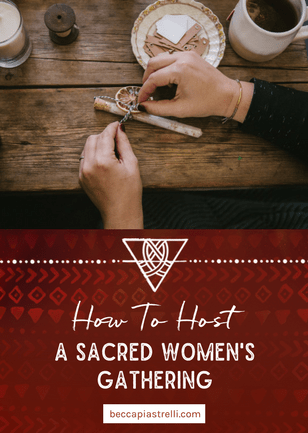 How to Host a Sacred Women's Gathering to Make Your Holiday Gifts