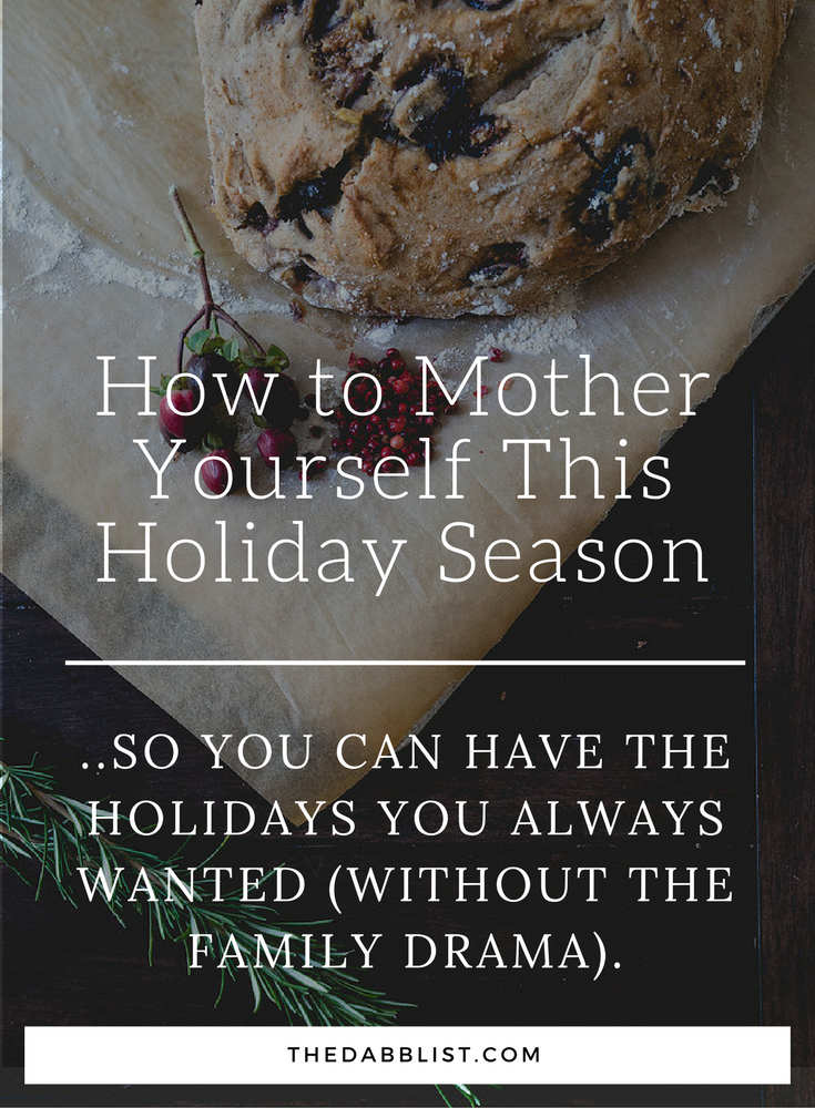 Struggle with family dynamics during the holidays? Read this post on how to get through it with ease.