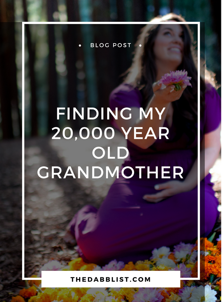 How my genetic ancestry report helped me find my 20,000 year old Grandmother. Read the post to learn how you can find your own!