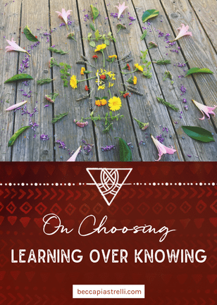 On Choosing Learning over Knowing