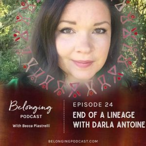 End of a Lineage Darla Antoine