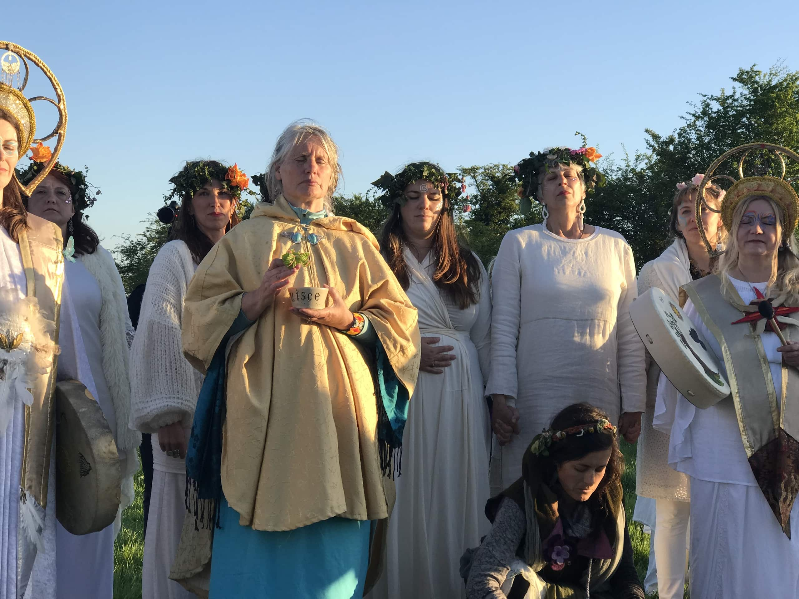 Women's ceremony on Bealtaine